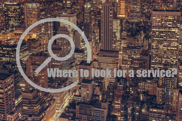 Where to look for a service to solve your problems