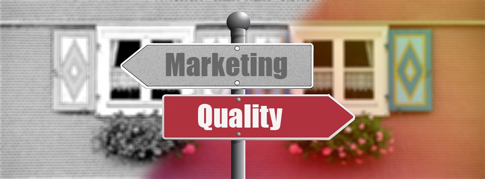 Marketing vs Quality
